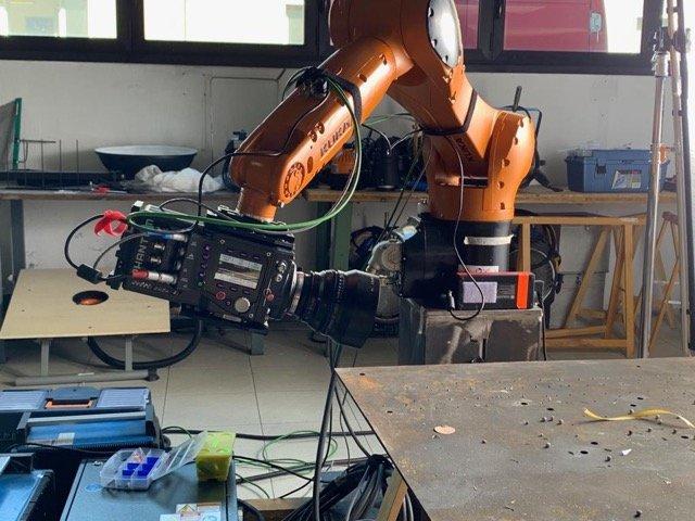 Il nostro robot e riprese high speed | WOWfood | www.wowfood.it