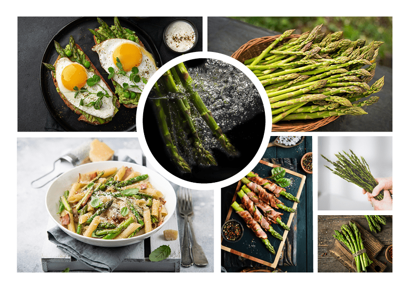 Moodboard Asparagi Esselunga | WOWfood | www.wowfood.it