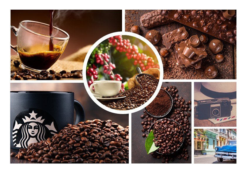 Moodboard Starbucks | WOWfood | www.wowfood.it