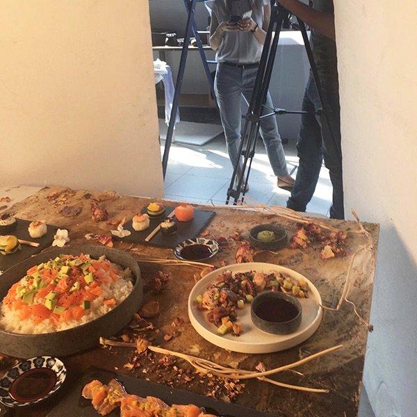 Backstage video Table-Top sushi 1 | WOWfood | www.wowfood.it