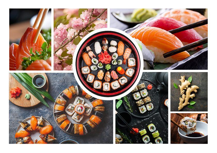 Moodboard sushi | WOWfood | www.wowfood.it